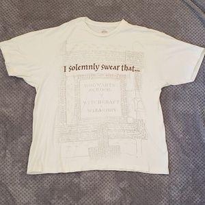 Harry Potter Men's T-shirt 2XL Universal Studios